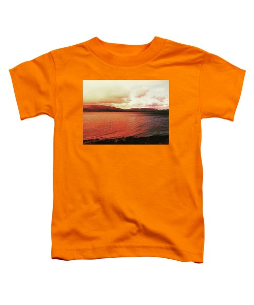 Red Sky After Storms  Toddler T-Shirt