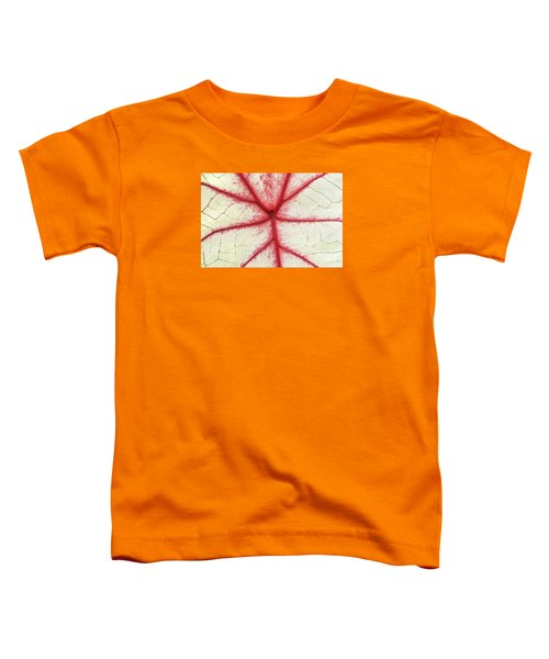 Red Veins Of A Coleus Plant Toddler T-Shirt