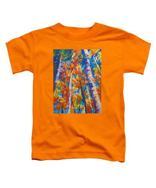 Redemption - Fall Birch And Aspen Toddler T-Shirt