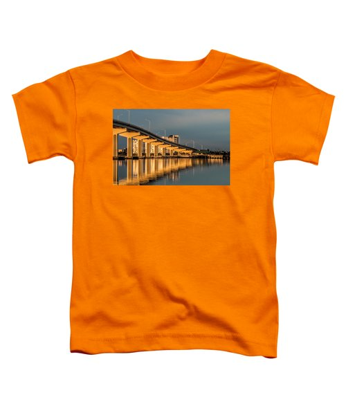 Reflections And Bridge Toddler T-Shirt
