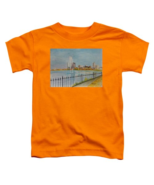 Reservoir In Central Park Toddler T-Shirt