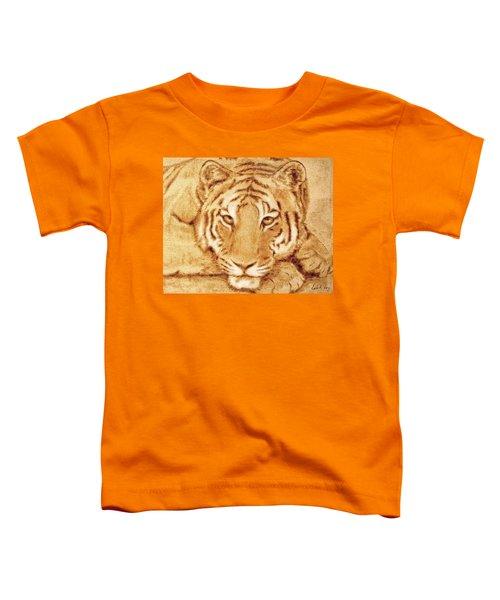 Resting Tiger Toddler T-Shirt