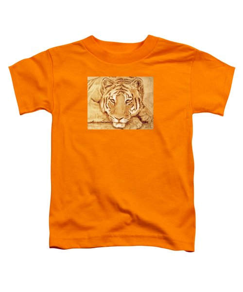 Resting Tiger Toddler T-Shirt