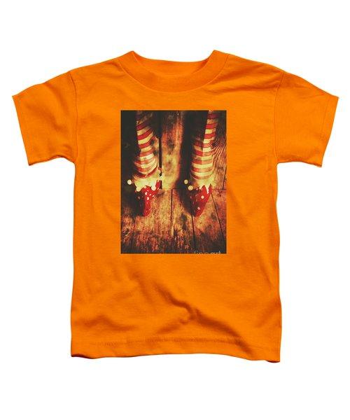 Retro Elf Toes Toddler T-Shirt