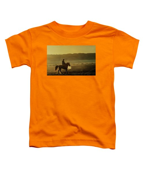 Riding His Horse Toddler T-Shirt
