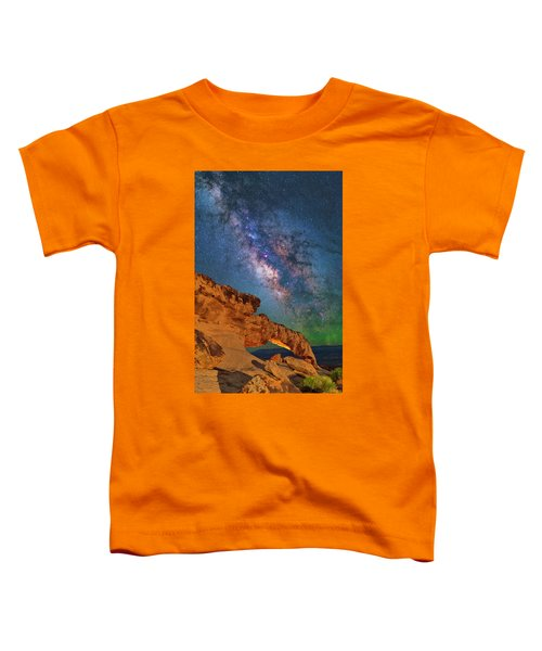 Riding Over The Arch Toddler T-Shirt