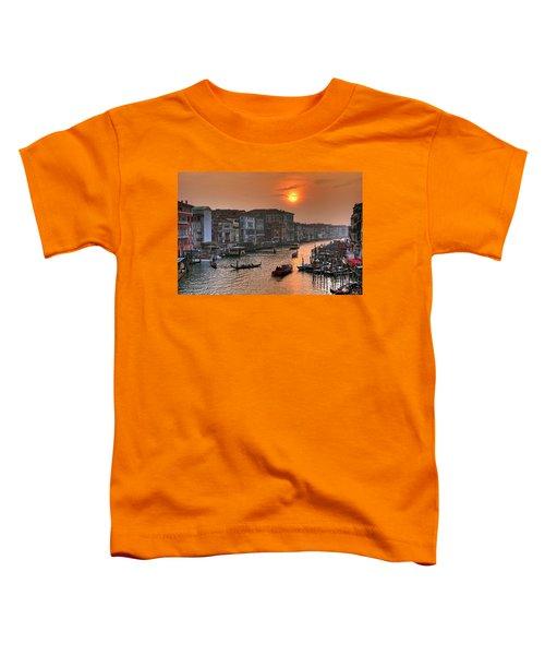 Riva Del Ferro. Venezia Toddler T-Shirt
