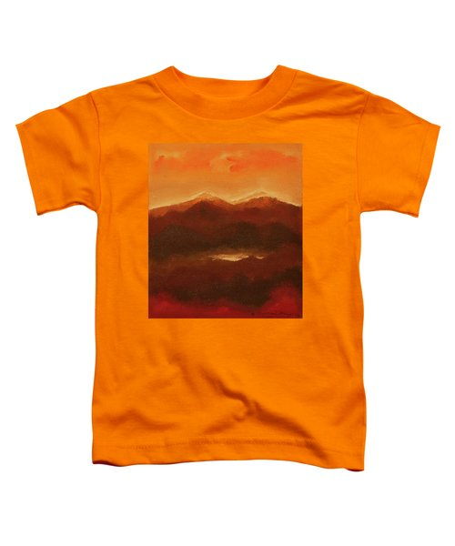River Mountain View Toddler T-Shirt