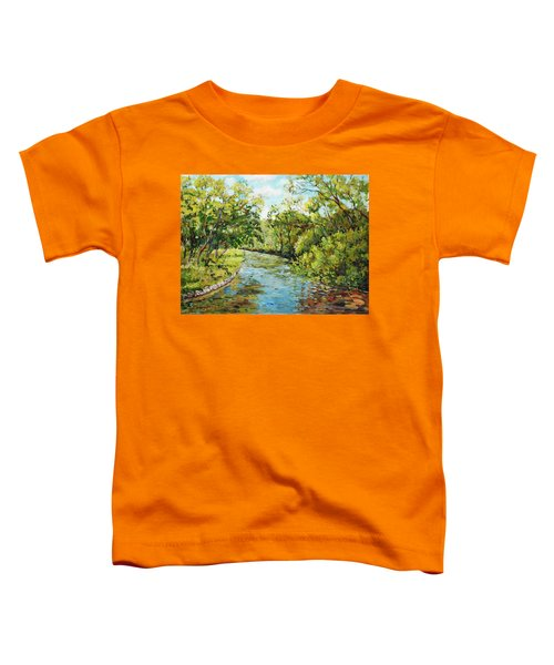 River Through The Forest Toddler T-Shirt