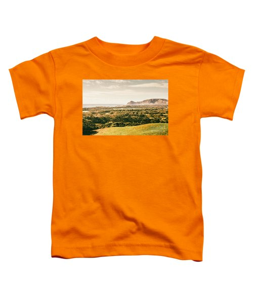 Rocky Capes And Rugged Coasts Toddler T-Shirt