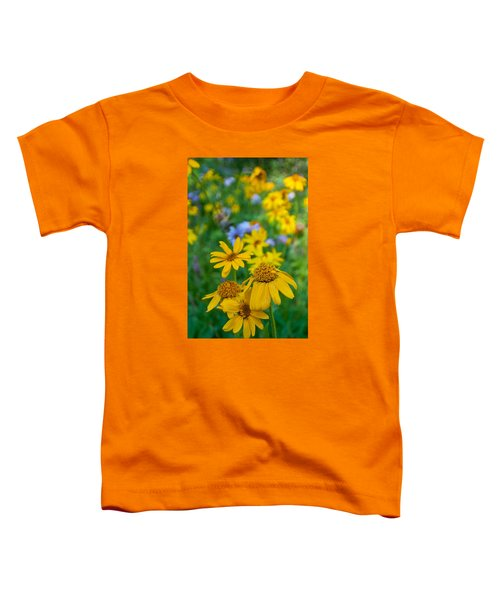 Rocky Mountain Wildflowers Toddler T-Shirt
