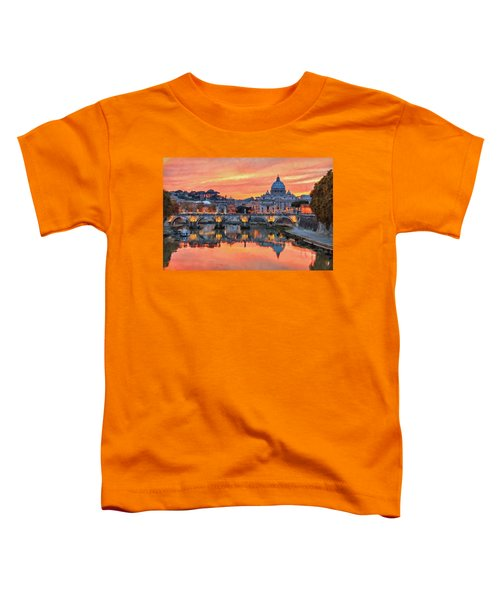Rome And The Vatican City - 01  Toddler T-Shirt
