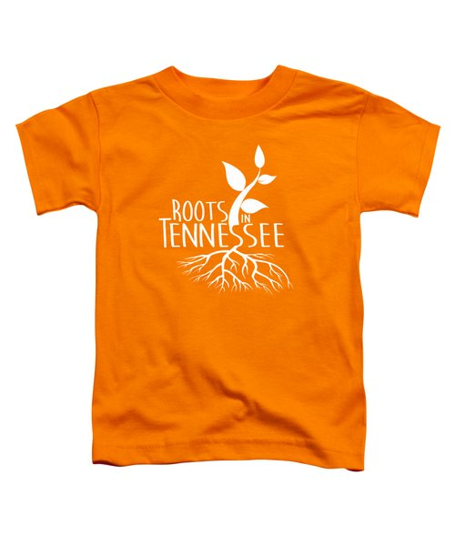 Roots In Tennessee Seedlin Toddler T-Shirt by Heather Applegate