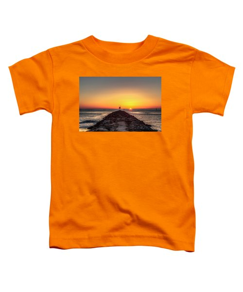 Rudee Inlet Jetty Toddler T-Shirt