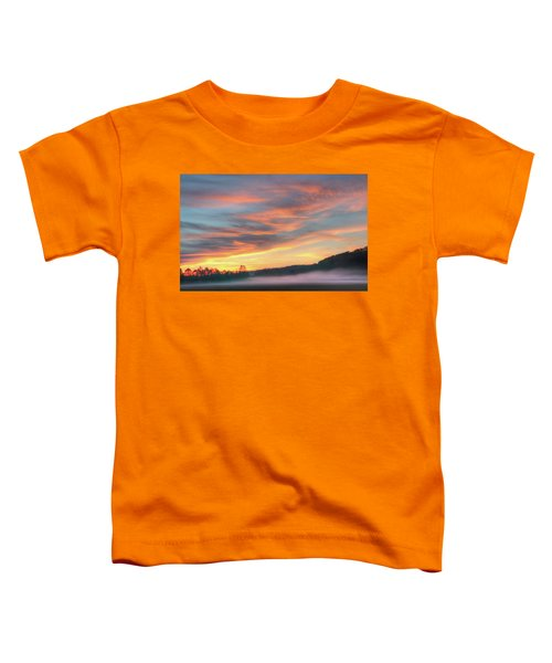 Rural Missouri Sunrise Toddler T-Shirt