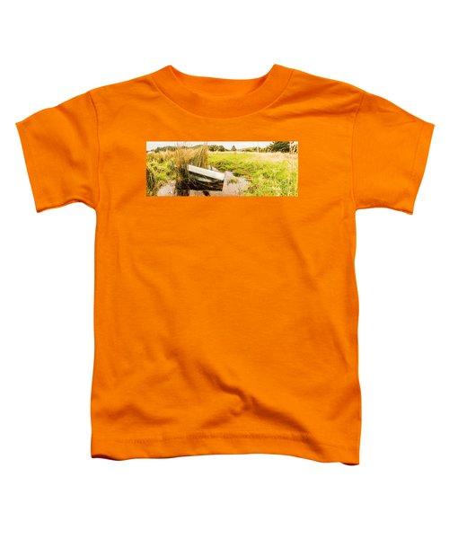 Rural Tasmania Farm Scene Toddler T-Shirt