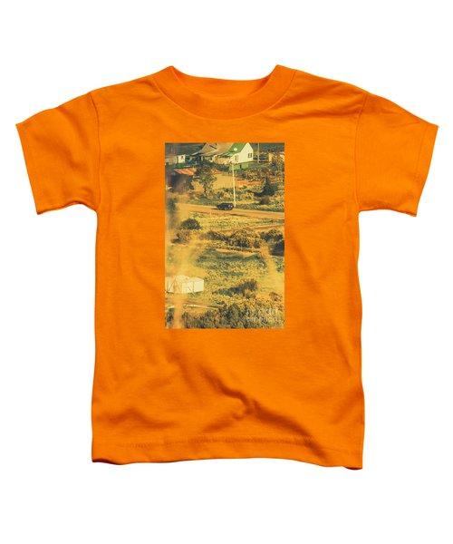 Rural Tasmania Landscape At Summer Toddler T-Shirt