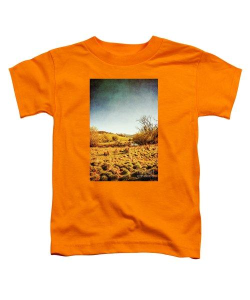 Rustic Pastoral Australia Toddler T-Shirt
