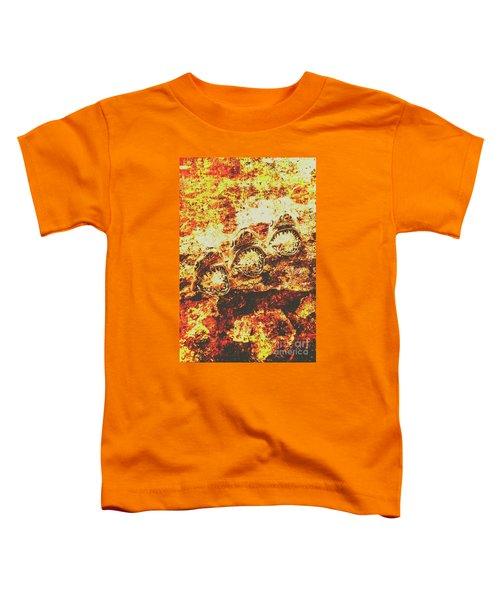 Rusty Shark Scene Toddler T-Shirt