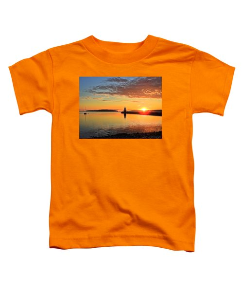 Sail Into The Sunrise Toddler T-Shirt