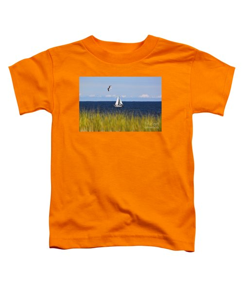 Sailing On Long Beach Island Toddler T-Shirt