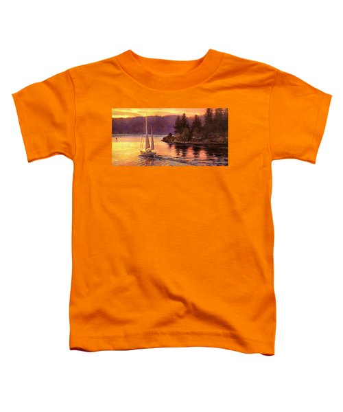 Sailing On The Sound Toddler T-Shirt