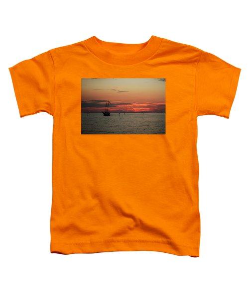 Sailing Sunset Toddler T-Shirt