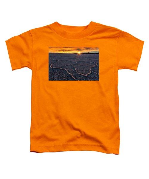 Salt Flats Sunset Toddler T-Shirt