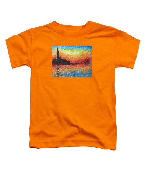 San Giorgio At Dusk Toddler T-Shirt