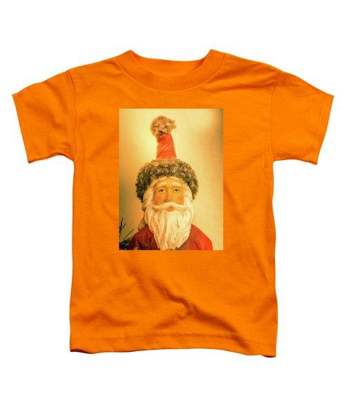 Santa Is Watching Toddler T-Shirt