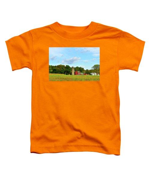 Sauer Farm, Mt. Marion Toddler T-Shirt