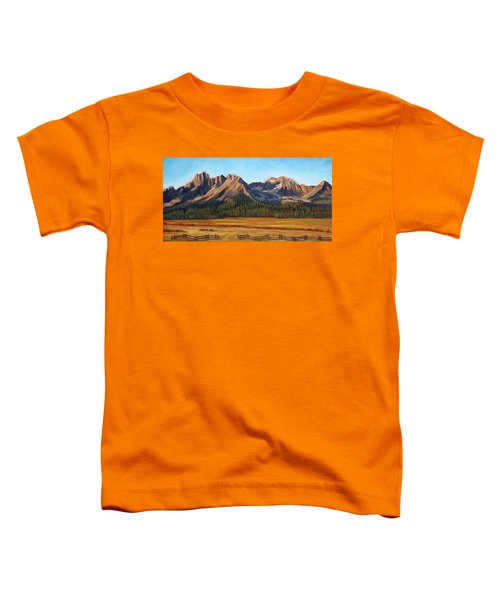 Sawtooth Mountains - Iron Creek Toddler T-Shirt