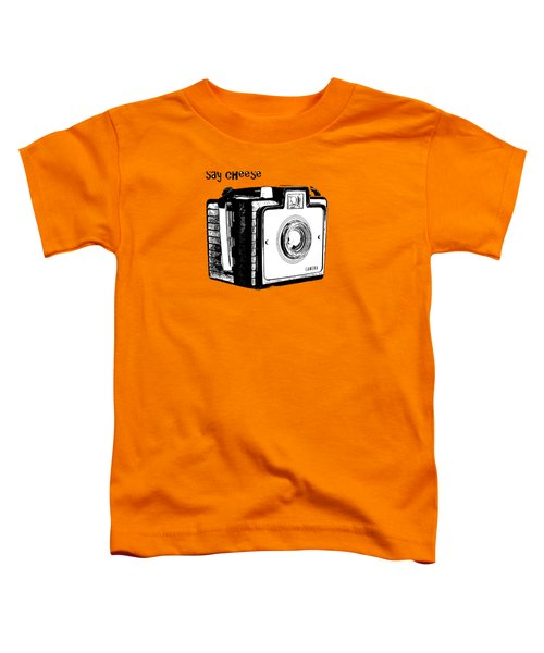 Say Cheese Old Camera T-shirt Toddler T-Shirt