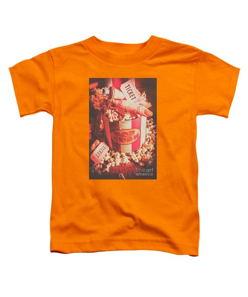 Scary Vintage B-grade Horror Movies Toddler T-Shirt