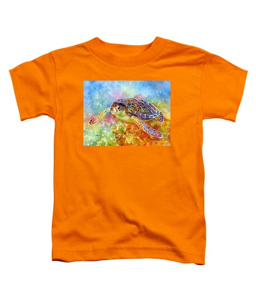 Sea Turtle 3 Toddler T-Shirt