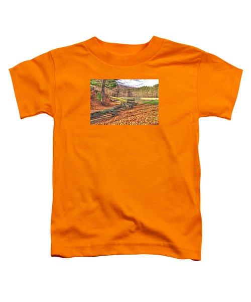 Serene Lake Toddler T-Shirt