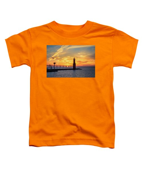 Toddler T-Shirt featuring the photograph Serious Sunrise by Bill Pevlor