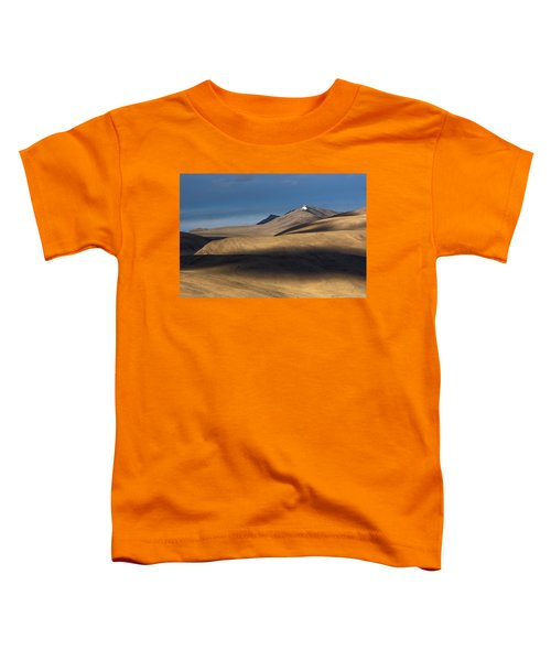 Shadows On Hills Toddler T-Shirt by Hitendra SINKAR