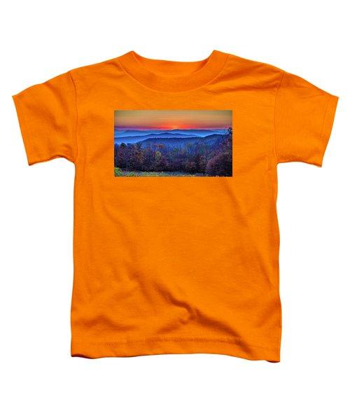 Shenandoah Valley Sunset Toddler T-Shirt
