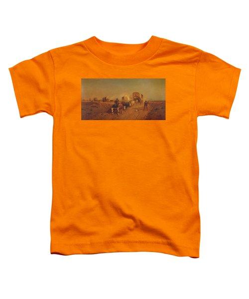 Ship Of The Plains Toddler T-Shirt