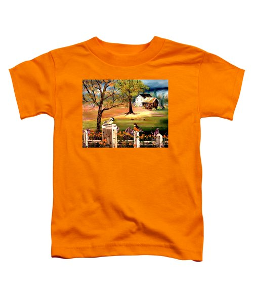 Signs Of Spring Toddler T-Shirt