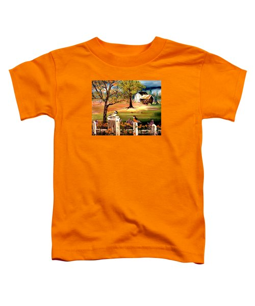 Signs Of Spring Toddler T-Shirt