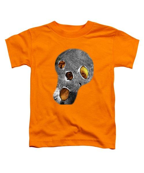 Skull Burn Toddler T-Shirt