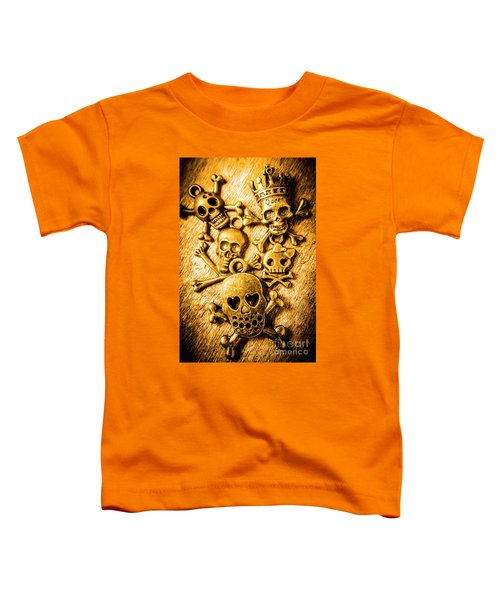Skulls And Crossbones Toddler T-Shirt