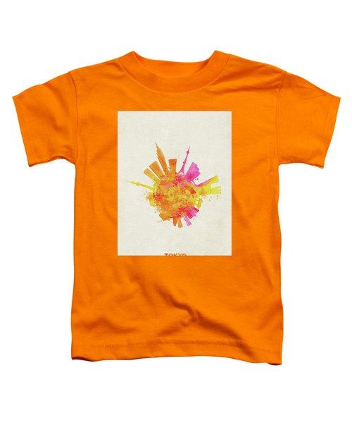 Skyround Art Of Tokyo, Japan  Toddler T-Shirt