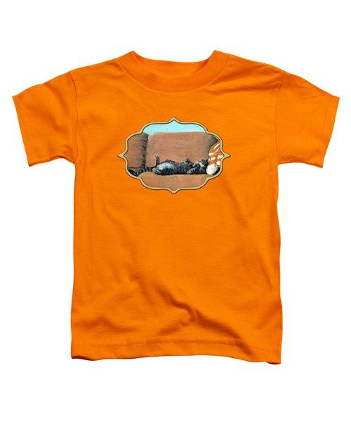Sleeping Cat Toddler T-Shirt