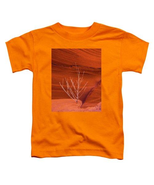 Slot Canyon Sentinel Toddler T-Shirt