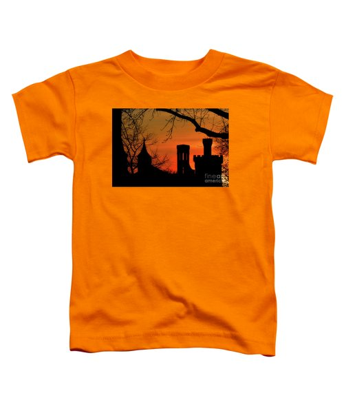 Smithsonian Castle Toddler T-Shirt by Luv Photography