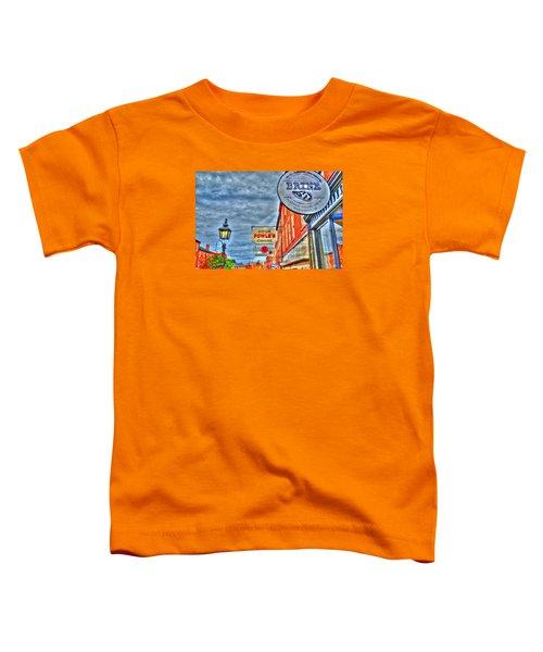 Soda Cigars And Brine Painterly   Toddler T-Shirt