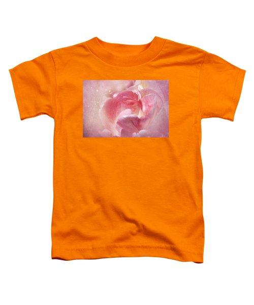 Soft Pink Tulips Toddler T-Shirt
